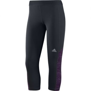 adidas Women's Techfit Capri Tight - Grey/Purple