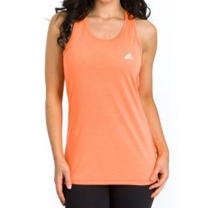 adidas Women's Ultimate Sleeveless Tee - Orange
