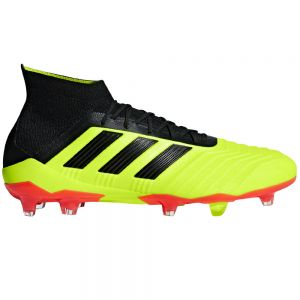 adidas Predator 18.1 FG - Solar Yellow/Core Black/Solar Red