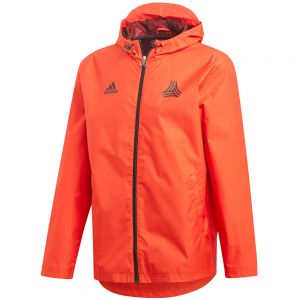adidas Tango Windbreaker Jacket - Red/Black