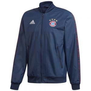 adidas Bayern Munich Anthem Jacket - Collegiate Navy