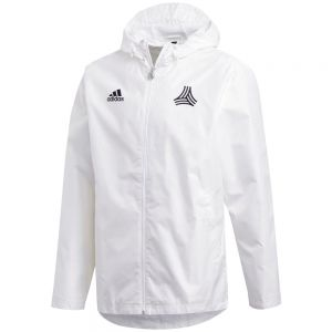 adidas Tango Windbreaker Jacket - White/Black