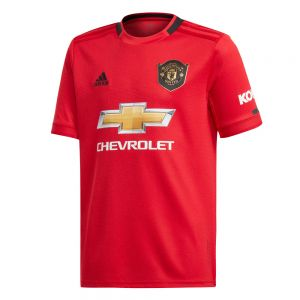 adidas Youth Manchester United Home Jersey 19/20