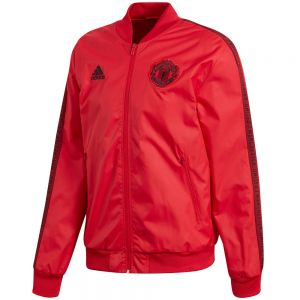 adidas Manchester United Anthem Jacket - Real Red/Black