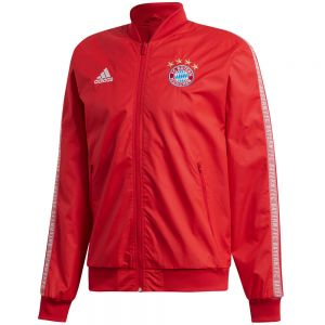adidas Bayern Munich Anthem Jacket 19/20 - Team Red/White