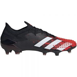 adidas Predator 20.1 Low Cut FG - Core Black/White