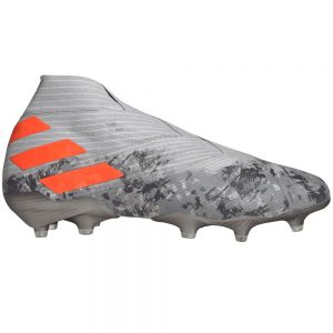 adidas Nemeziz 19+ FG - Grey/Solar Orange/Chalk White
