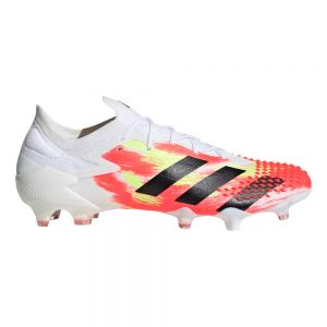 adidas Predator 20.1 Low Cut FG - White/Core Black