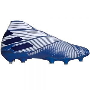 adidas Nemeziz 19+ FG - White/Team Royal