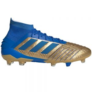 adidas Predator 19.1 FG - Gold Metal/Football Blue