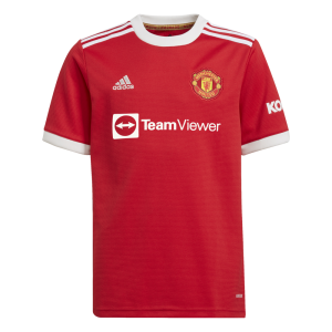 Youth Manchester United Home Jersey 21/22