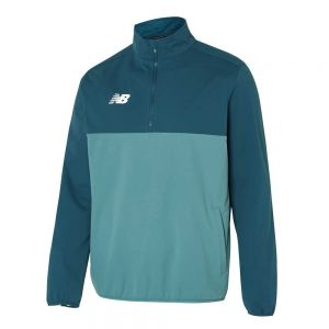 New Balance Tech Training 1/2 Zip Long-Sleeved Windblocker - Toronado