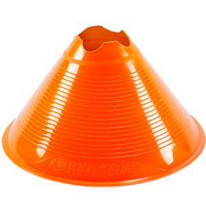 Kwik Goal Large Disc Cone - Orange