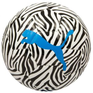 Puma Neon Jungle Soccer Ball - Black/White