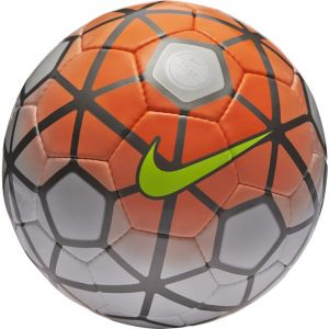 Nike Club Team Soccer Ball -  White/Total Orange