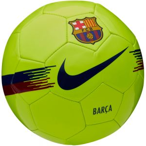 Nike Barcelona Supporters Ball - Volt/Noble Red