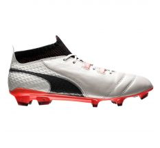 Puma One  17.1 FG - White/Black/Coral