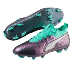 Puma One 2 World Cup Leather FG - Shift/Biscay Green/Puma White
