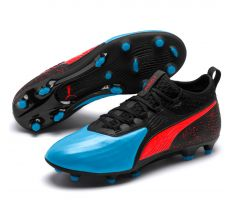 Puma One 19.2 FG/AG - Bleu Azur/Red Blast