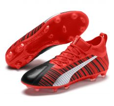 Puma One 5.2 FG/AG - Puma Black/Energy Red/Aged Silver