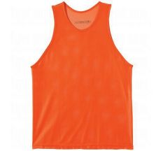 Kwik Goal Youth Deluxe Scrimmage Vest - Fluorescent Orange