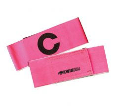 Kwik Goal Captain C Band - Fluorescent Pink