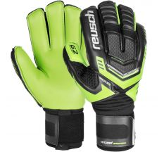 Reusch RE:LOAD Supreme G2 Goalkeeper Gloves - Green/Black