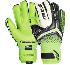 Reusch RE:CEPTOR PRO M1 Ortho-Tec JR Goalkeeper Gloves - Green/Black/White