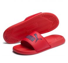 Puma Popcat Slide - Red/Peacoat