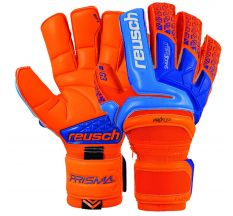 Reusch Prisma Deluxe G3 Ortho-Tec Glove - Shocking Orange/Blue