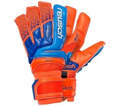 Reusch Prisma Deluxe G3 Glove - Shocking Orange/Blue