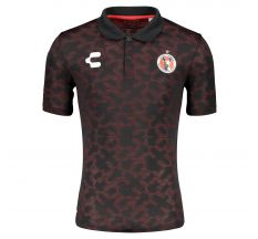 Charly Club Tijuana Xolos Seamless Polo - Red/Black
