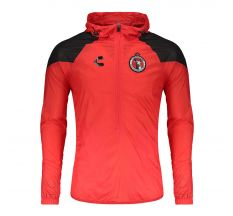 Charly Club Tijuana Xolos Wind Jacket - Red/Black