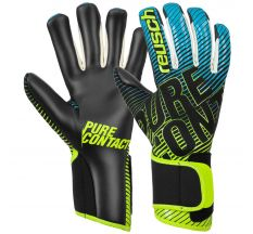 Reusch Pure Contact III R3 Glove - Black/safety Yellow