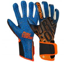 Reusch Pure Contact III G3 Fusion Glove - Black/shock Orange/blue