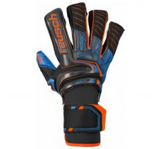 Reusch Attrakt G3 Fusion Goaliator Glove - Black/shock Orange/blue