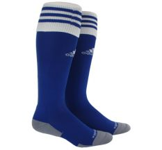adidas Copa Zone Cushion II Sock (Small) - Royal/White