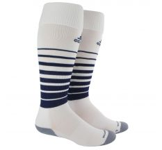 adidas Team Speed Soccer Socks - White/Navy
