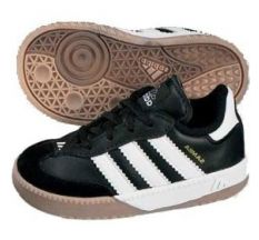 adidas Jr Samba Millennium - Black/Running White/Gold Kids