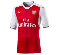 Puma Arsenal Authentic Home Jersey 16/17