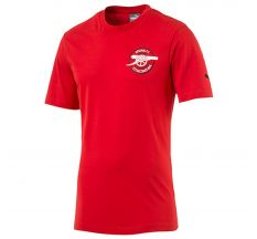 Puma Arsenal Graphic Tee - High Risk Red