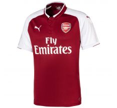 Puma Arsenal Home Jersey 17/18 - Chili Pepper/White