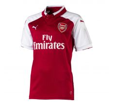 Puma Youth Arsenal Home Jersey 17/18 - Chili Pepper/White