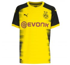 Puma Borussia Dortmund International Jersey 17/18 - Cyber Yellow/Puma Black