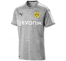 Puma Borussia Dortmund Third Jersey 17/18 - Light Grey/Heather/White