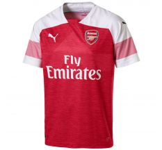 Puma Arsenal Home Jersey 18/19 - Chili Pepper Heather/White