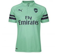 Puma Arsenal Third Jersey 18/19 - Biscay Green/Peacoat