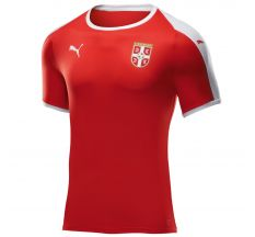 Puma Serbia Home Jersey 2018 - Puma Red/Puma White