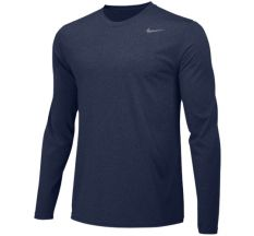 Nike Youth Legend Long Sleeve Training Top - Navy