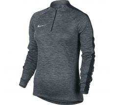 Nike Women's Dry Squad Drill Top - Black/Cool Grey/Black/White